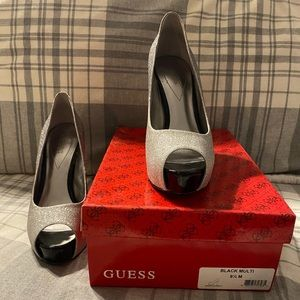 Guess Sparkly Heels Size 9.5